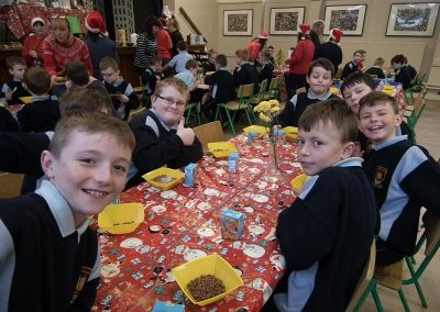 Whole School Christmas Breakfast December 2015